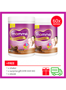 Milk Booster MOMMA® Pregolact® Chocolate - Normal Pack 600g (2 Unit)