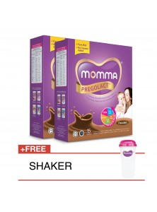 Milk Booster MOMMA® Pregolact® Chocolate - Travel Pack 300g (2 Unit)