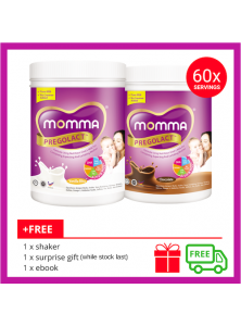 Milk For Pregnant Mother: 1 Chocolate & 1 Vanilla Bliss (2 Unit)