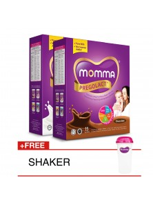 Milk Booster For Lactating Mother: 1 Chocolate & 1 Vanilla Bliss (Travel Pack - 2 Unit)